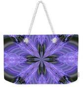 Purple Fantasy Weekender Tote Bag