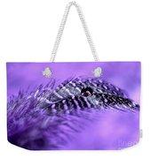 Purple Flight Weekender Tote Bag