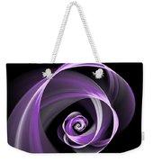 Purple Flirt Weekender Tote Bag