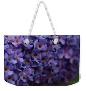Purple Flowers 2 Weekender Tote Bag