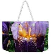 Purple Flowers In England Weekender Tote Bag
