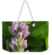 Purple Flowers In The Pantanal Weekender Tote Bag