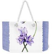 Purple Flowers Serenade Botanical Impressionism Weekender Tote Bag