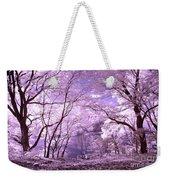 Purple Forest Weekender Tote Bag