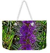 Purple Fringe On Bald Mountain In Ketchum-idaho Weekender Tote Bag