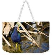 Purple Gallinule 4 Weekender Tote Bag