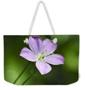 Purple Geranium Flowers Weekender Tote Bag