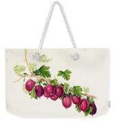 Purple Gooseberry Weekender Tote Bag