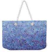 Purple Gradient Weekender Tote Bag
