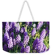 Purple Grape Hyacinth  Weekender Tote Bag