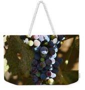 Purple Grapes Weekender Tote Bag