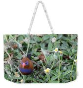 Purple Grenadier  Weekender Tote Bag