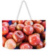 Purple Heirloom Tomatoes  Weekender Tote Bag