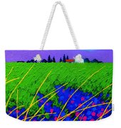 Purple Hills Weekender Tote Bag by John  Nolan