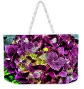 Purple Hortensia After Summer Rain Weekender Tote Bag