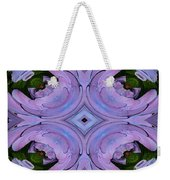 Purple Hydrangea Flower Abstract 2 Weekender Tote Bag
