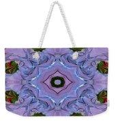 Purple Hydrangea Flower Abstract Weekender Tote Bag