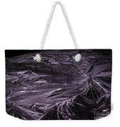 Purple Ice Weekender Tote Bag