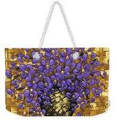Purple In The Warm Glow Weekender Tote Bag