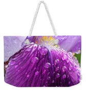 Purple Iris - 2 Weekender Tote Bag
