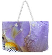 Purple Iris - 3 Weekender Tote Bag