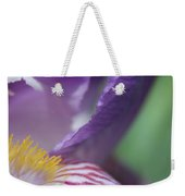 Purple Iris 1 Weekender Tote Bag