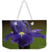 Purple Iris 6 Weekender Tote Bag