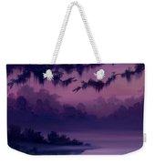 Purple Jungle Weekender Tote Bag