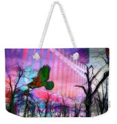 Purple Light Weekender Tote Bag
