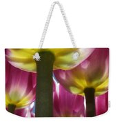 Purple Lights Weekender Tote Bag