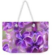 Purple Lilacs Weekender Tote Bag