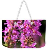 Purple Loosestrife Tall Weekender Tote Bag