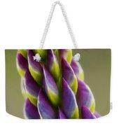 Purple Lupine Macro Weekender Tote Bag