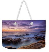 Purple Majesty No Mountain Weekender Tote Bag