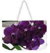 Purple Me Not Weekender Tote Bag