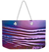Purple Meterorite Weekender Tote Bag