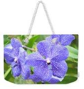 Purple Mokara Orchid Weekender Tote Bag