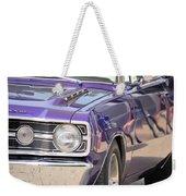 Purple Mopar Weekender Tote Bag