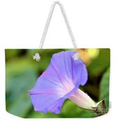 Purple Morning Glory Weekender Tote Bag
