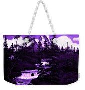 Purple Mountain Weekender Tote Bag