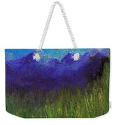 Purple Mountains By Jrr Weekender Tote Bag