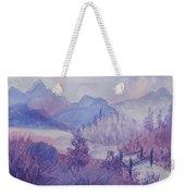 Purple Mountains Fantasy Weekender Tote Bag