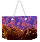 Purple Mountains Majesty Weekender Tote Bag