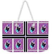 Purple Nights Weekender Tote Bag