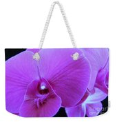 Purple Orchid 7 Weekender Tote Bag