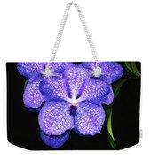 Purple Orchids - Flower Art By Sharon Cummings Weekender Tote Bag