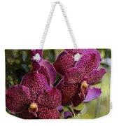 Purple Orchids With Bokeh Weekender Tote Bag