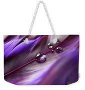 Purple Paradise Weekender Tote Bag