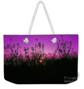Purple Paradise Sunset By Diana Sainz Weekender Tote Bag
