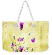 Purple Passion Texture Weekender Tote Bag